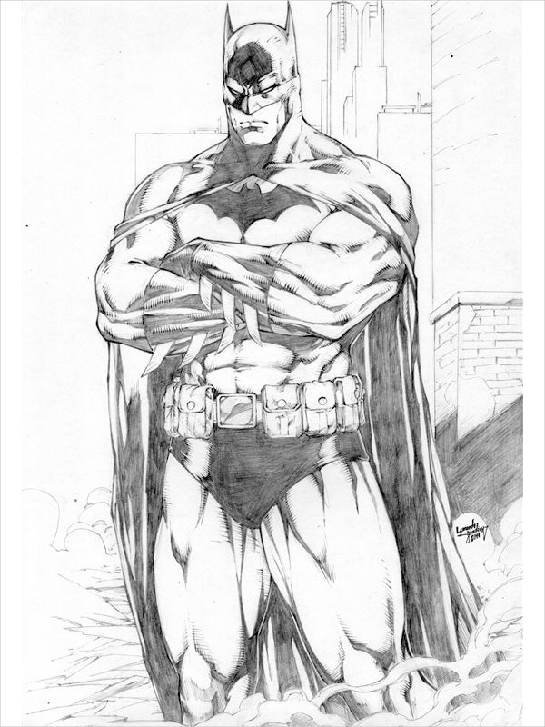 Awesome Drawing of Batman