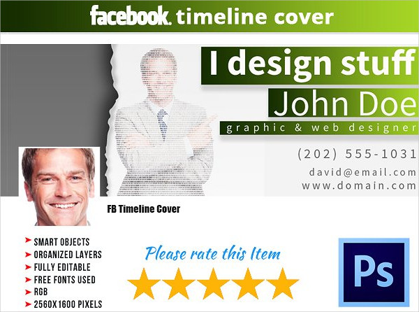 Company Business Facebook Cover Templates