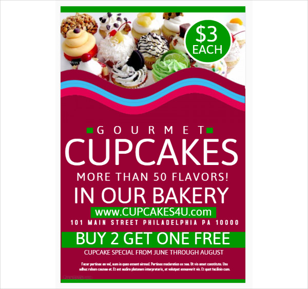 Bakery Poster Templates 21 Free PSD AI EPS Vector Format Download
