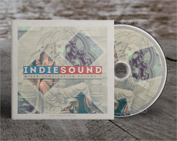 Indie Sound CD Cover Artwork Template