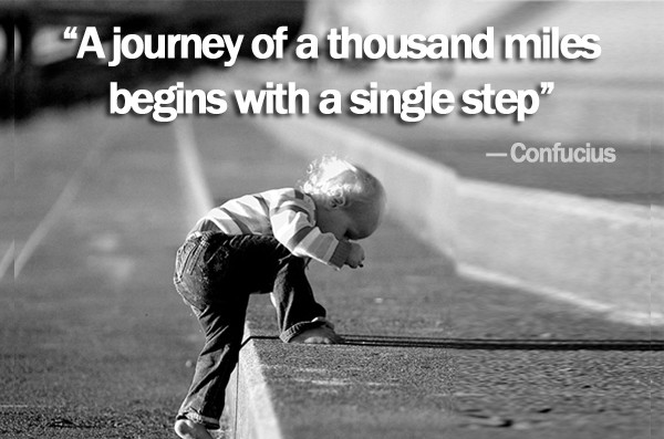 Journey Begins with Single Step