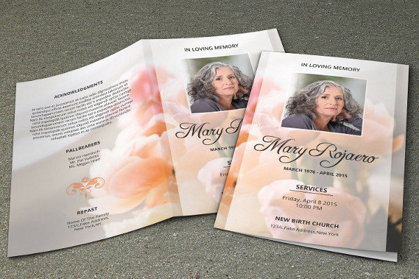 obituary pamphlet template - 27 funeral program templates psd ai eps vector