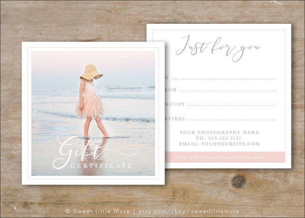 Best gift card templates free premium download photograph gift card template yelopaper Image collections