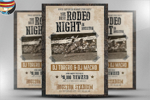 Print Ready Western Flyer Template