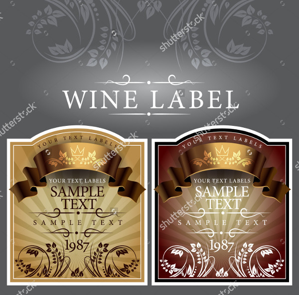 wine label template 24 free psd ai eps vector format download. Black Bedroom Furniture Sets. Home Design Ideas
