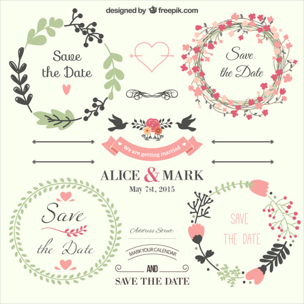 Wedding Templates  Free Psd Ai Eps Vector Format Download