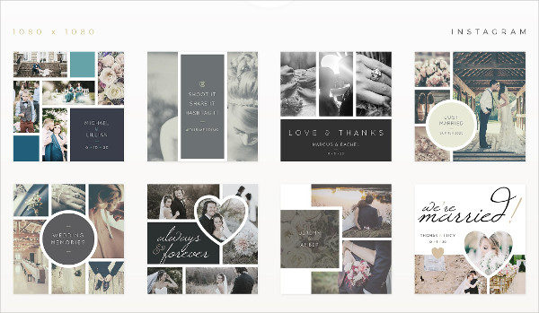 Wedding Storyboard Templates