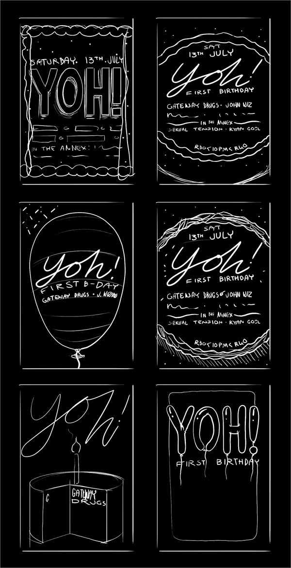 birthday poster templates 28 free psd ai eps vector format download. Black Bedroom Furniture Sets. Home Design Ideas