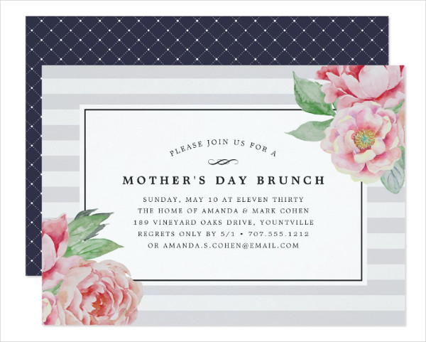 Vintage Mothers Day Template
