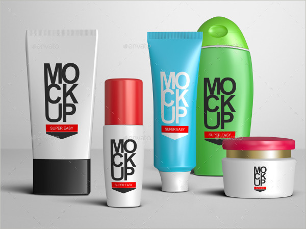 Beauty Cosmetic Package Mockups