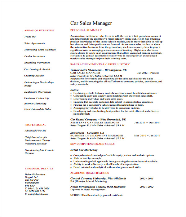 resume templates 27 word pdf documents