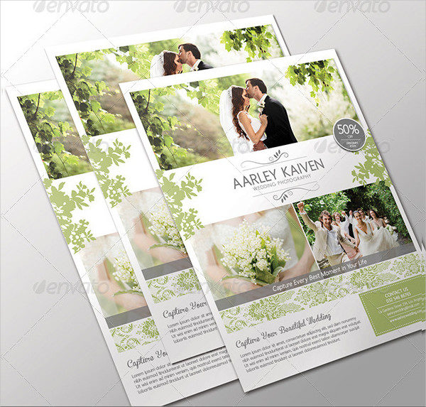 Wedding Photography Flyer Templates  Free  Premium Download