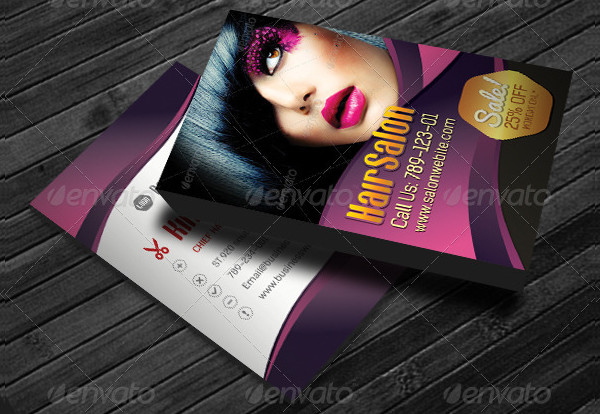 33 beauty salon business card templates free premium download