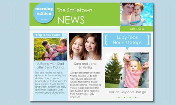 Newsletter Templates - 21+ Free PSD, AI, EPS, Vector Format Download