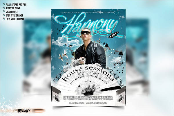 Dj Flyer Templates  Free  Premium Download