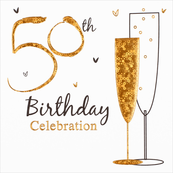 50th Birthday Invitation Templates 21 Free Premium Download – Invitations for a 50th Birthday Party