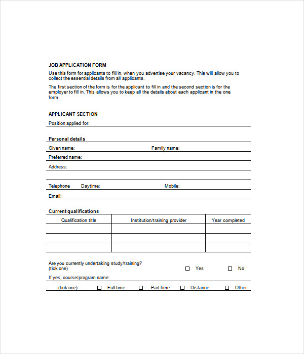 Form Templates - 12+ Free Word & Pdf Documents Download