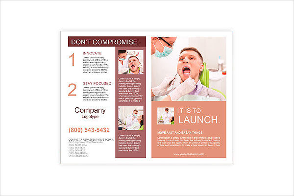 free dental brochure templates - dental brochure templates 21 free psd ai eps vector