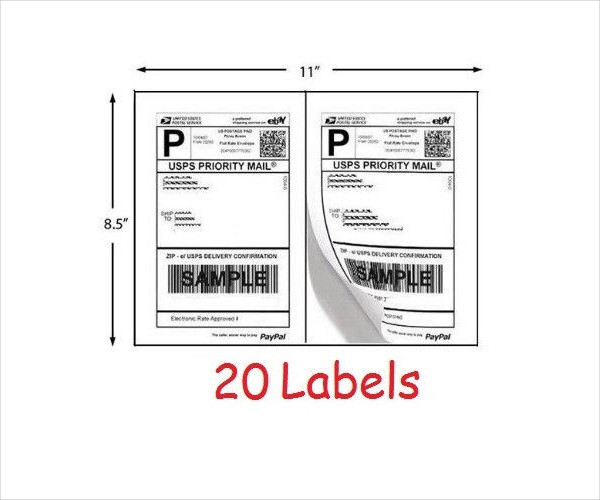 Shipping Label Templates 20 Free PSD AI EPS Vector Format – Package Label Template
