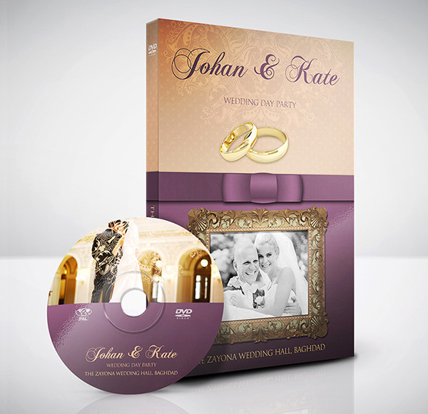 Wedding DVD Cover Template - 28+ Free & Premium Download