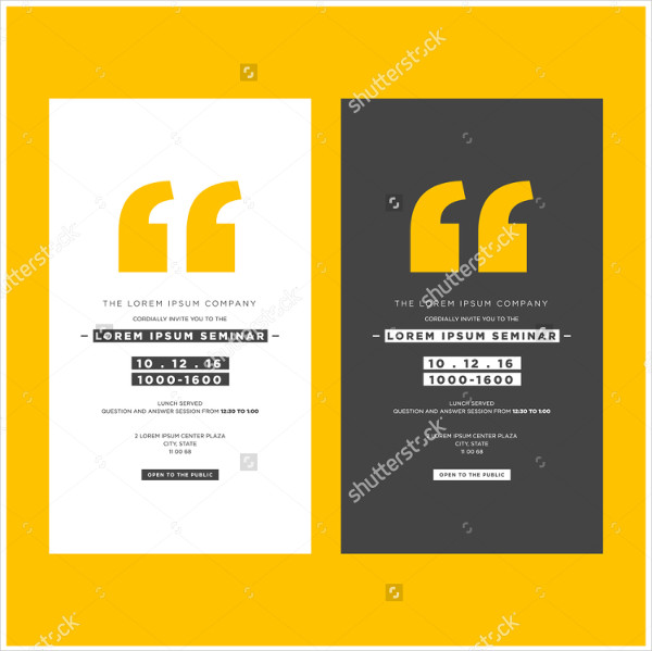Seminar Invitation Template Orderecigsjuiceinfo - Business invitation template