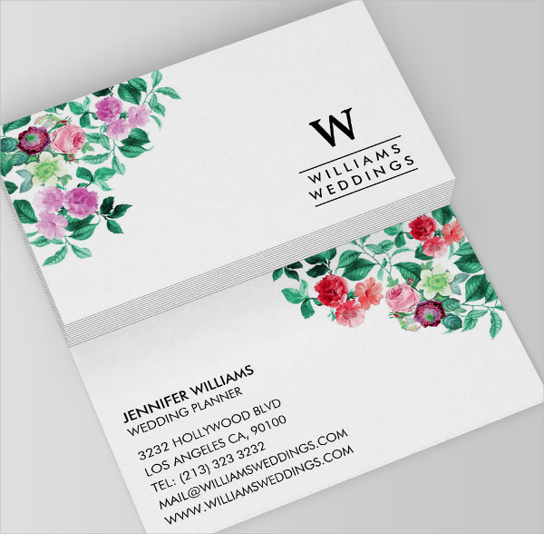 Wedding planner business card 23 free psd ai eps for Wedding planning business cards