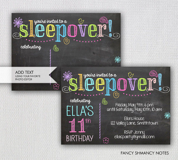 Chalkboard Invitation Template 23 Free PSD EPS AI Vector – Chalkboard Invitation