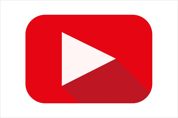 Youtube Icon Flat | www.pixshark.com - Images Galleries ...