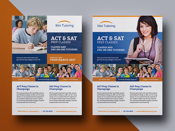 Education Flyer Templates - 25+ Free PSD, AI, Vector Format Download