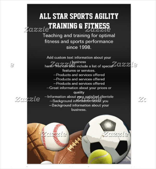 Sports Flyer Templates  Free Psd Ai Eps Vector Format Download