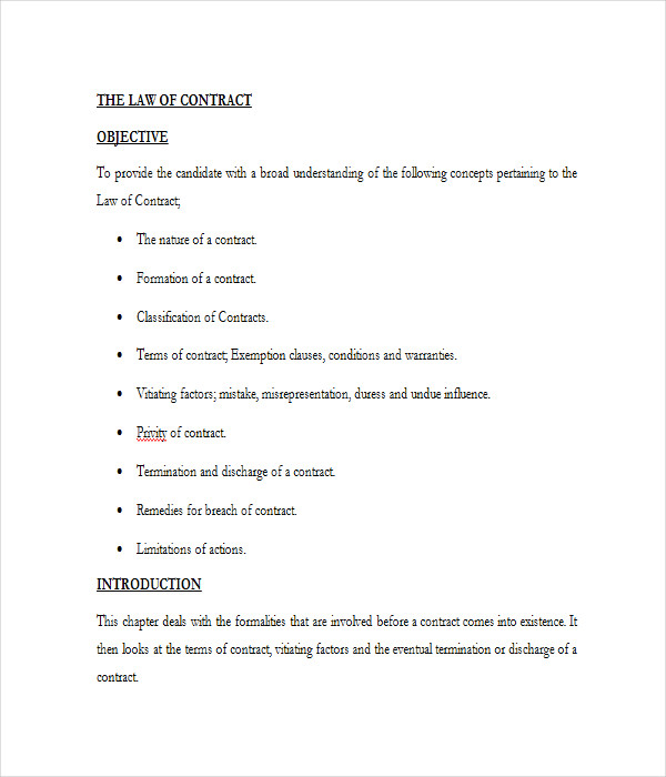 Contract Templates 21 Free Word PDF Documents Download – Legal Contracts Template