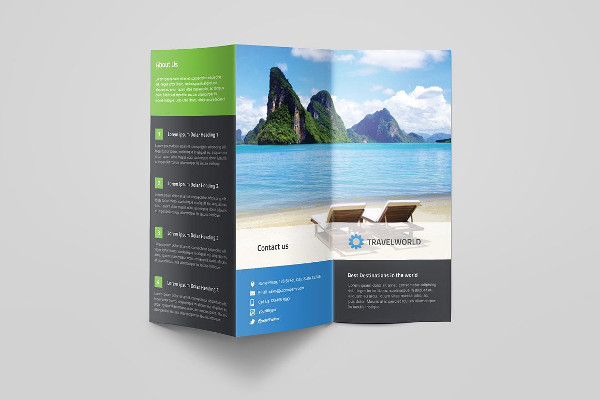 Brochure Template PSD 2 psd free file | Download now!