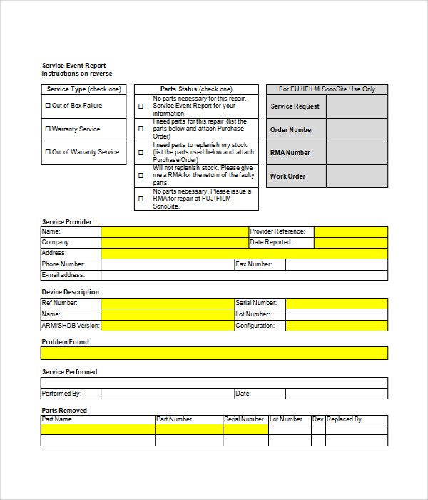 Report Templates - 25+ Free Word, Pdf Documents Download