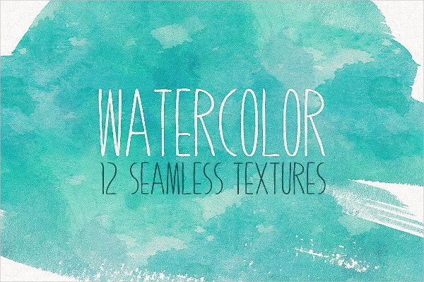 12 Seamless Watercolor Textures