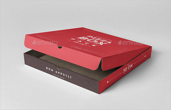 30 Pizza Box Mock-Up