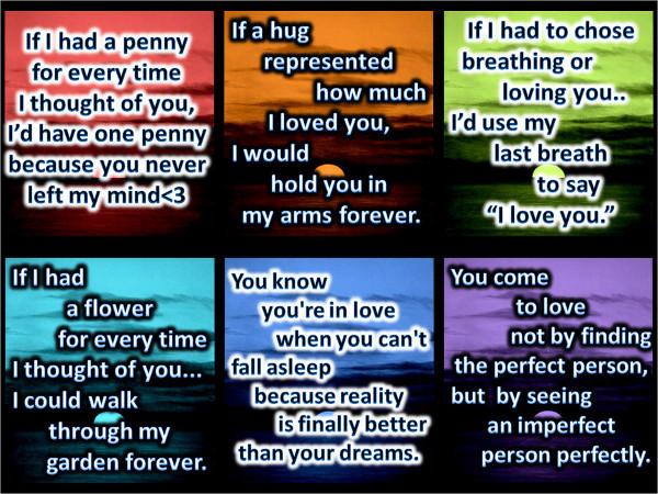 6 Love Quotes