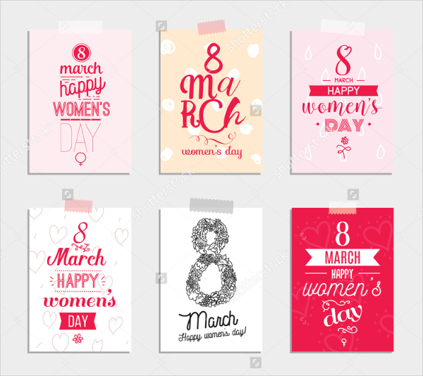 6 Womens Day Invitation Cards
