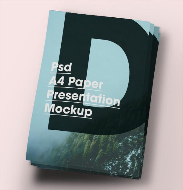 A4 Paper Brochure