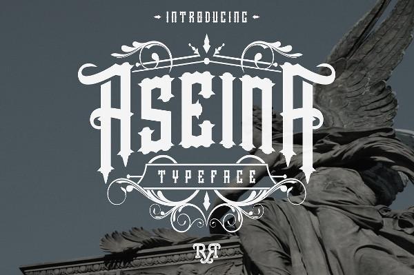 Aseina Typeface Font