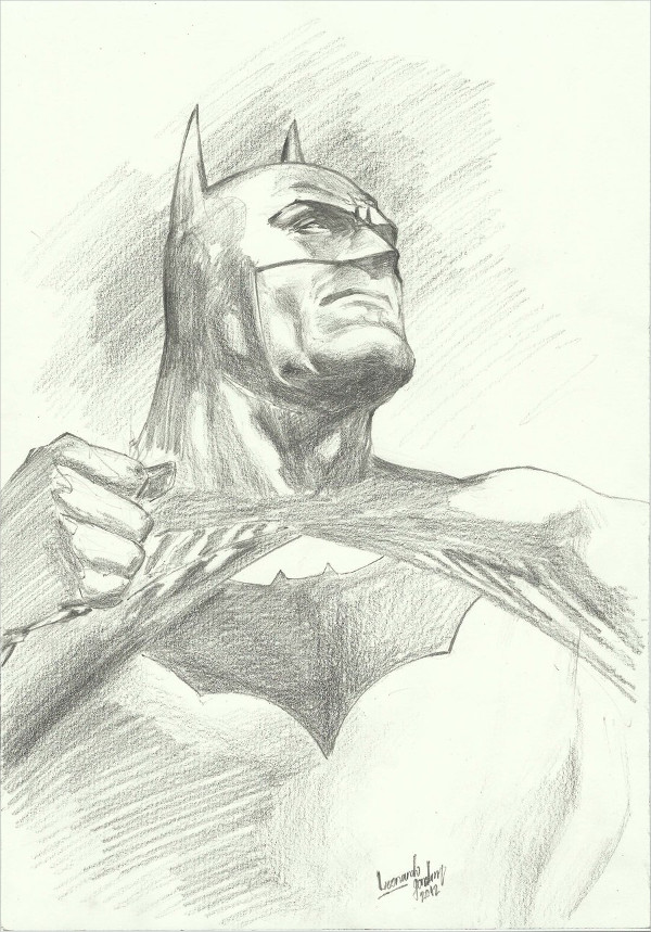 Batman Cool Drawing