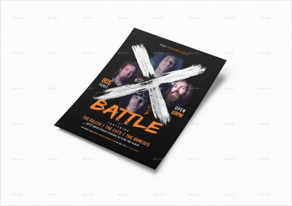 Battle Music Flyers