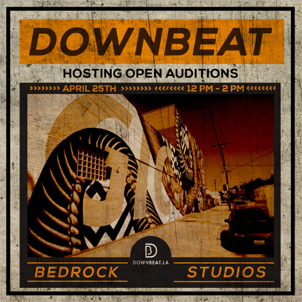 Bed Rock Audition Flyer