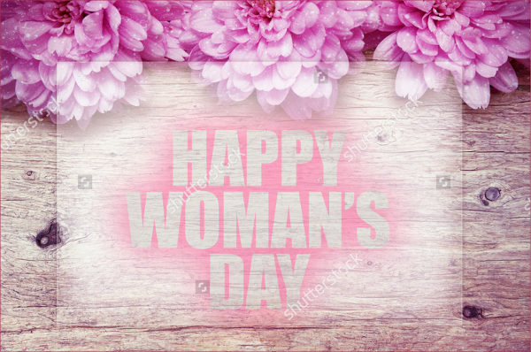 Blossom Womens Day Greeting Cards