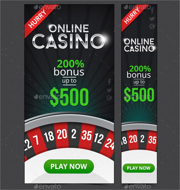 Casino Web Banner Design