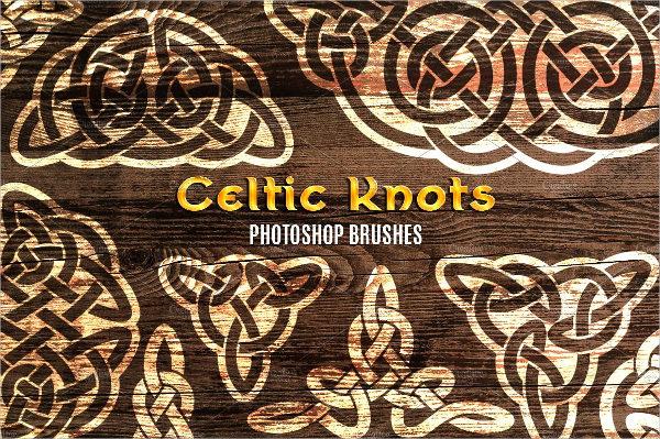 Celtic Geometric Brushes