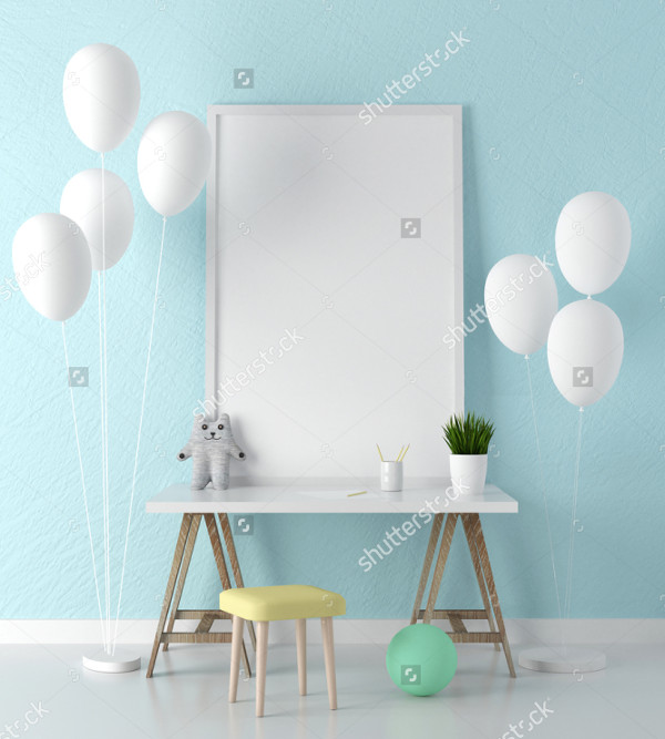 Children Frame Mockup