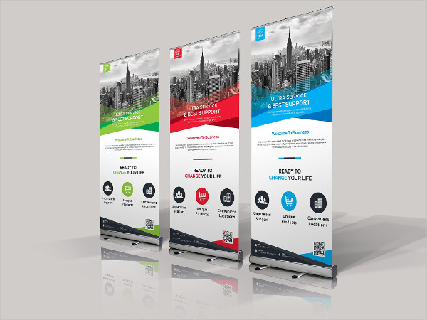 Clean Business Banners