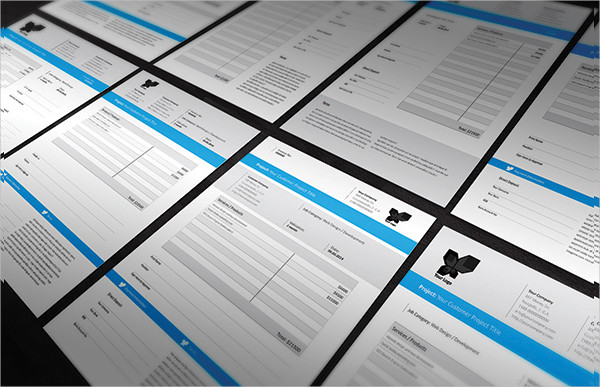 Clean Business Invoice Templates