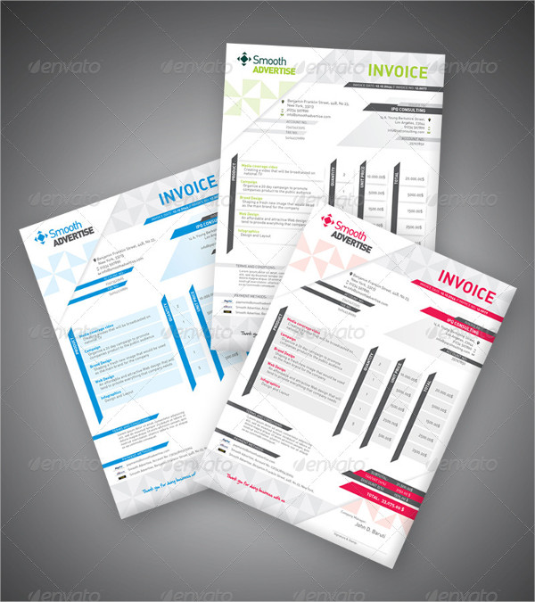 Company Business Invoice Templates