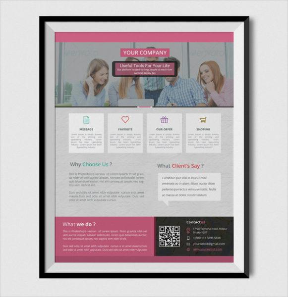 Company Corporate poster